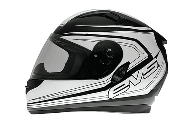 Мотошлем EVS CYPHER STREET HELMET MAVERICK White-Black