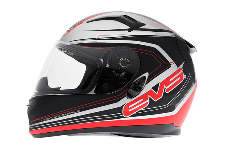 Мотошлем EVS CYPHER STREET HELMET MAVERICK Matte Black-Red